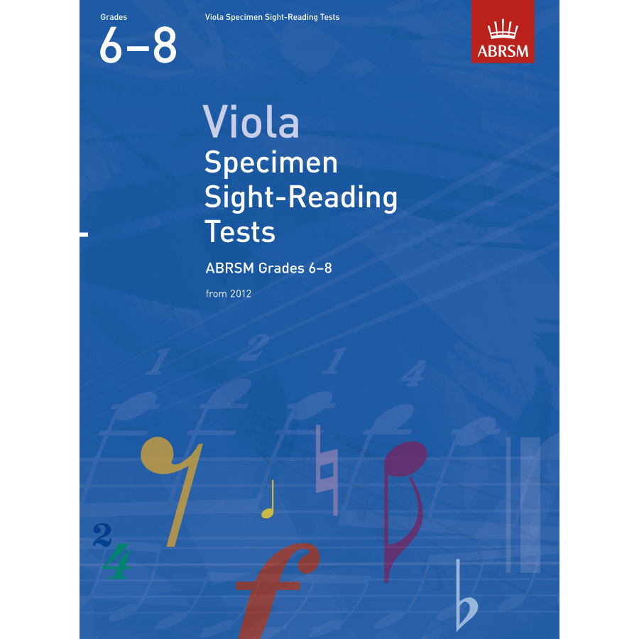 Viola Grades 6-8 Spec S-R Tests (ABRSM)