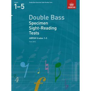 Dble Bass Grades 1-5 Spec S-R Tests (ABRSM)