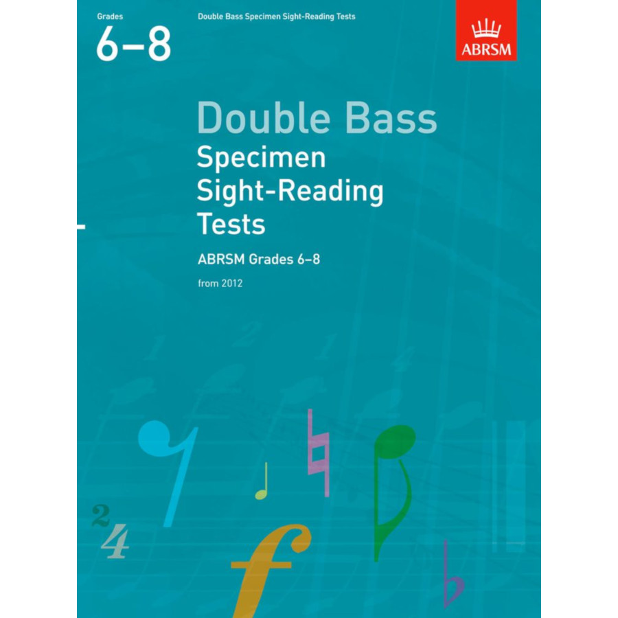 Dble Bass Grades 6-8 Spec S-R Tests (ABRSM)