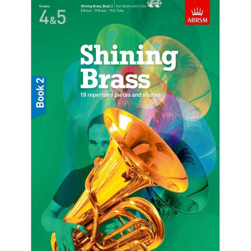 Shining Brass Book 2 (Gr 4&5) w/CD