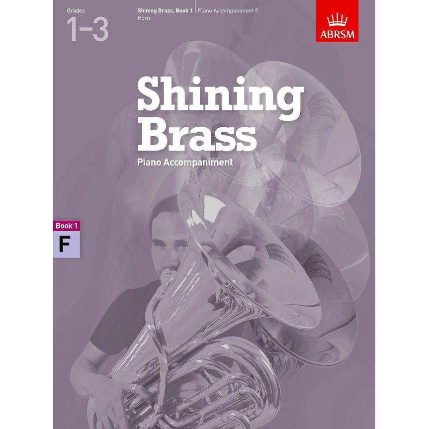 Shining Brass Book 1 Piano Accompaniment, F Horn