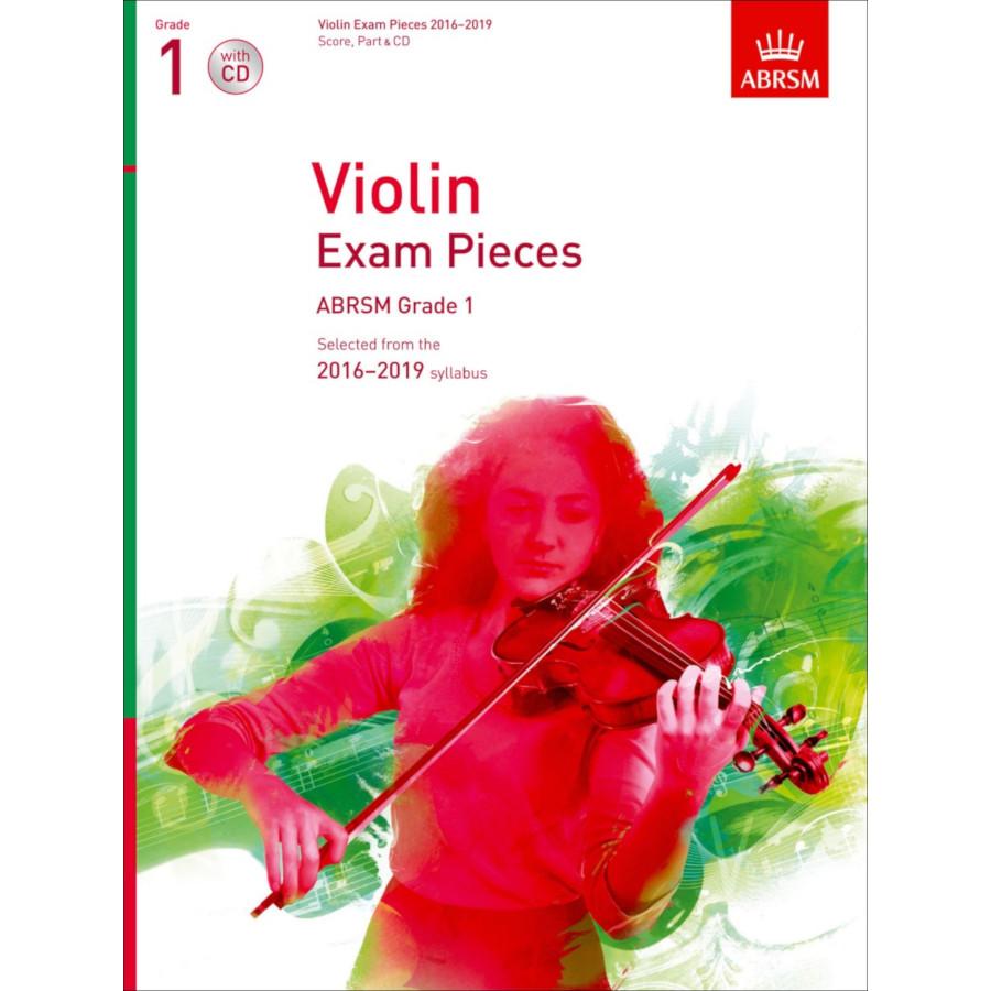 ABRSM Violin Grade 1 Pieces, S/P/CD (2016-2019)