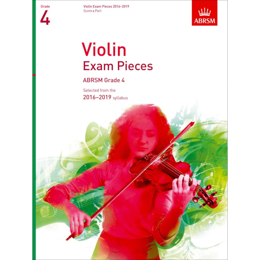 ABRSM Violin Grade 4 Pieces, S/P (2016-2019)