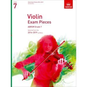 ABRSM Violin Grade 7 Pieces, S/P (2016-2019)