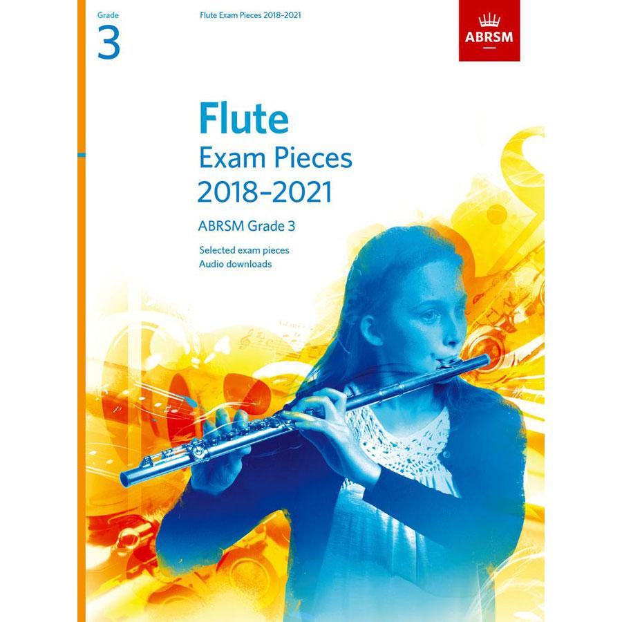 Flute Exam Pieces Grade 3 2018-2021