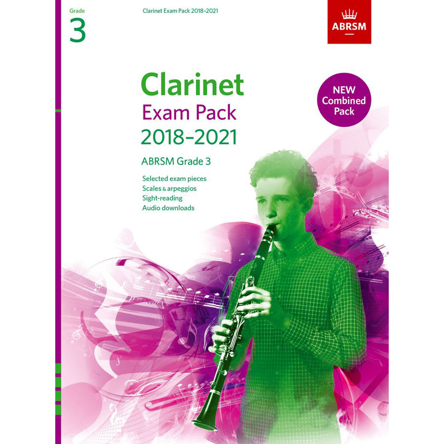Clarinet Exam Pack Grade 3 2018-2021