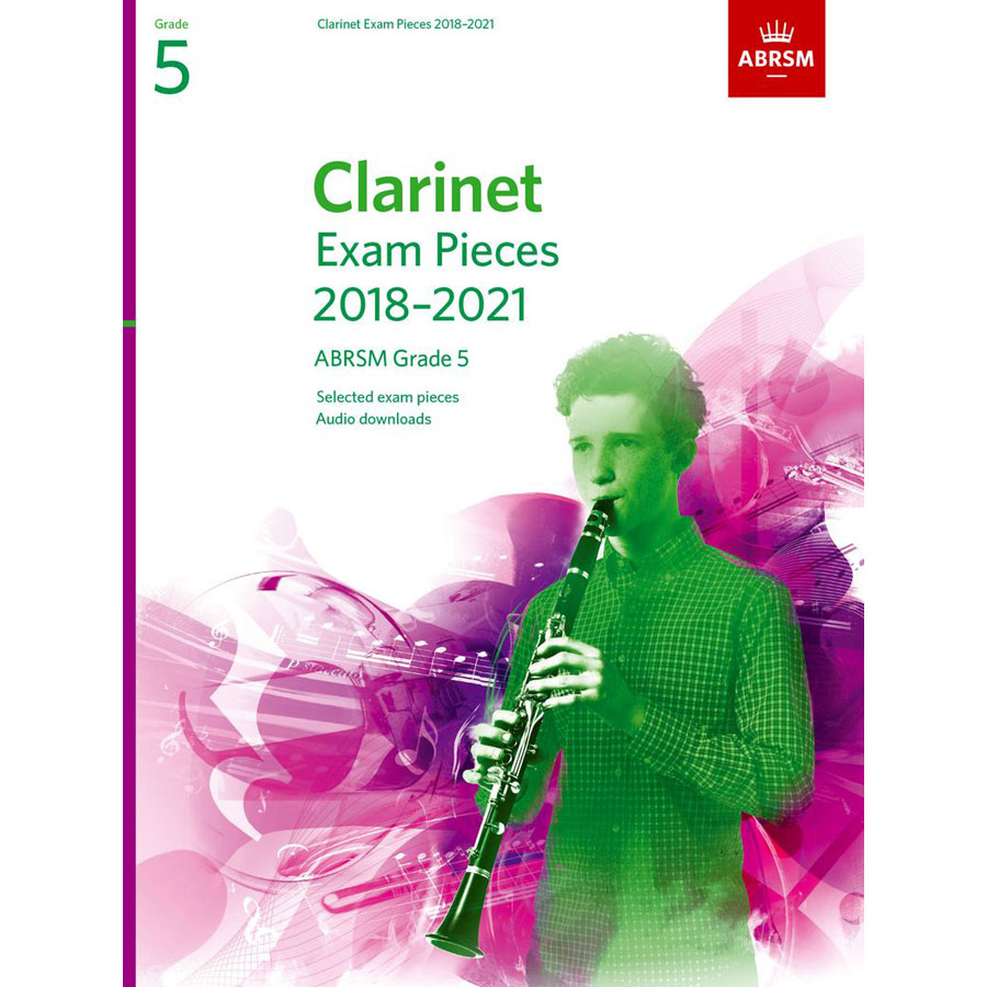 Clarinet Exam Pieces Grade 5 2018-2021