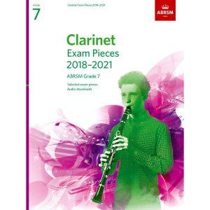 Clarinet Exam Pieces Grade 7 2018-2021