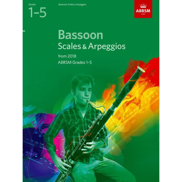 Bassoon Scales & Arpeggios Grades 1-5 from 2018