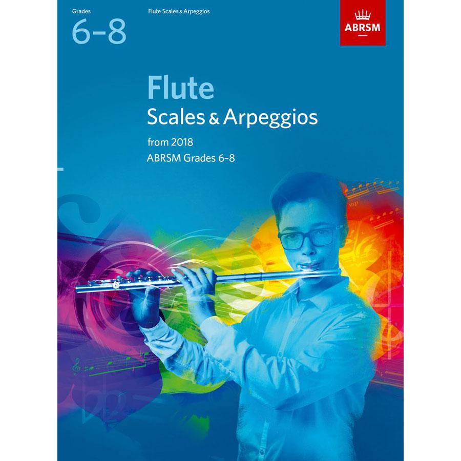 Flute Scales & Arpeggios Grades 6-8 from 2018