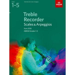Treble Recorder Scales & Arpeggios Grades 1-5 fr