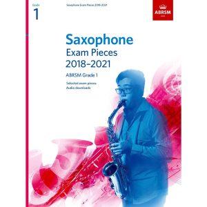 Saxophone Exam Pieces Grade 1 2018-2021