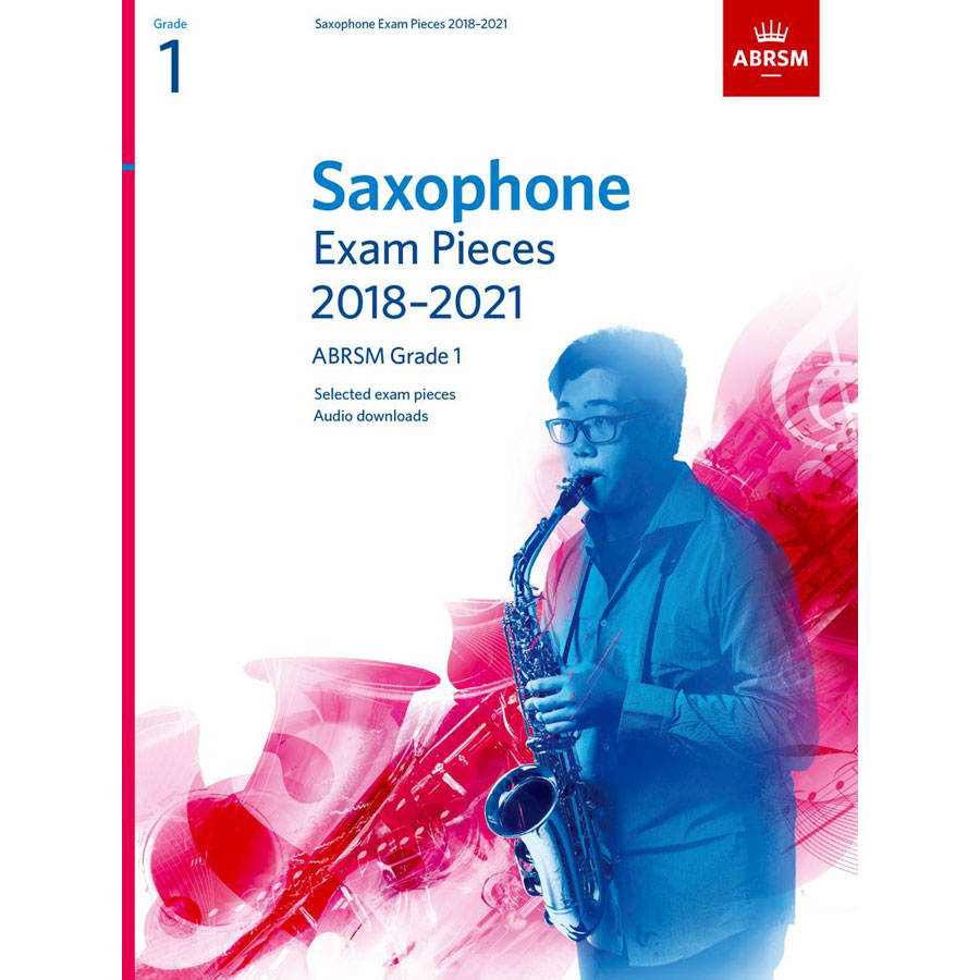 Saxophone Exam Pieces Grade 1 2018-2021