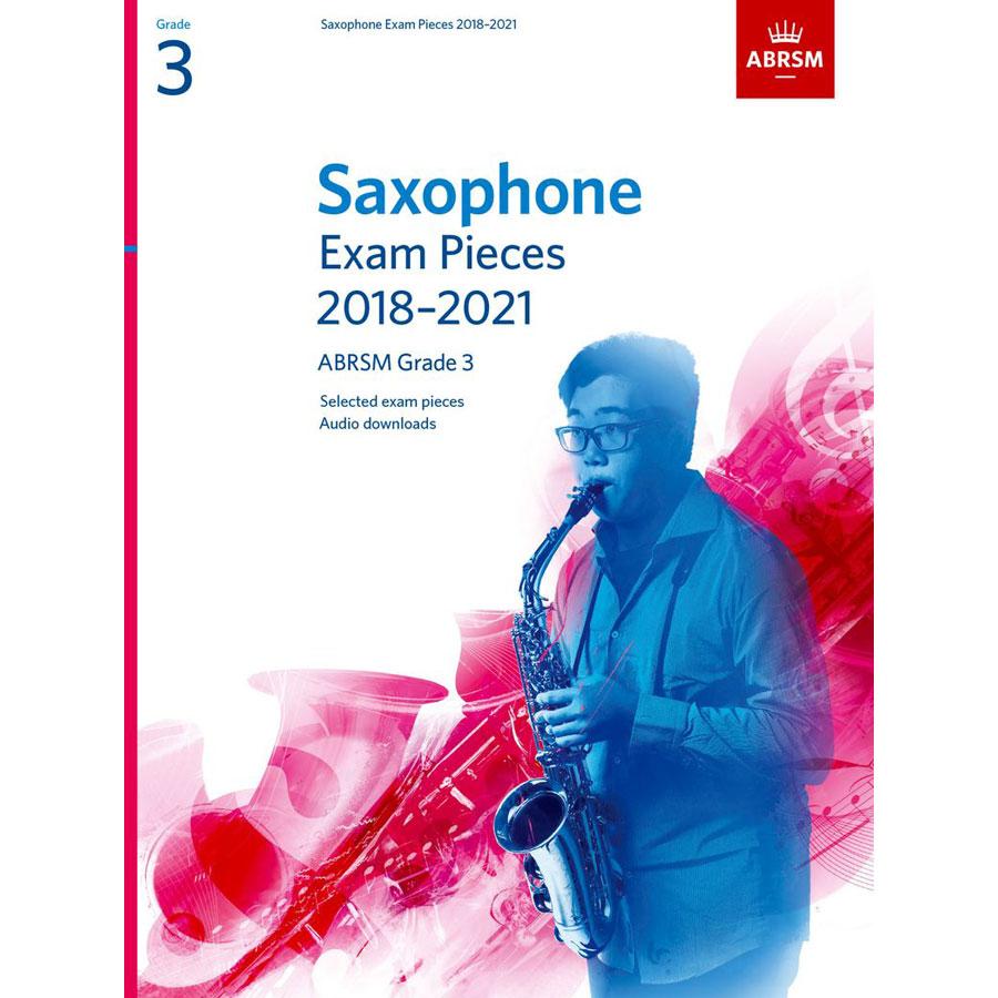 Saxophone Exam Pieces Grade 3 2018-2021