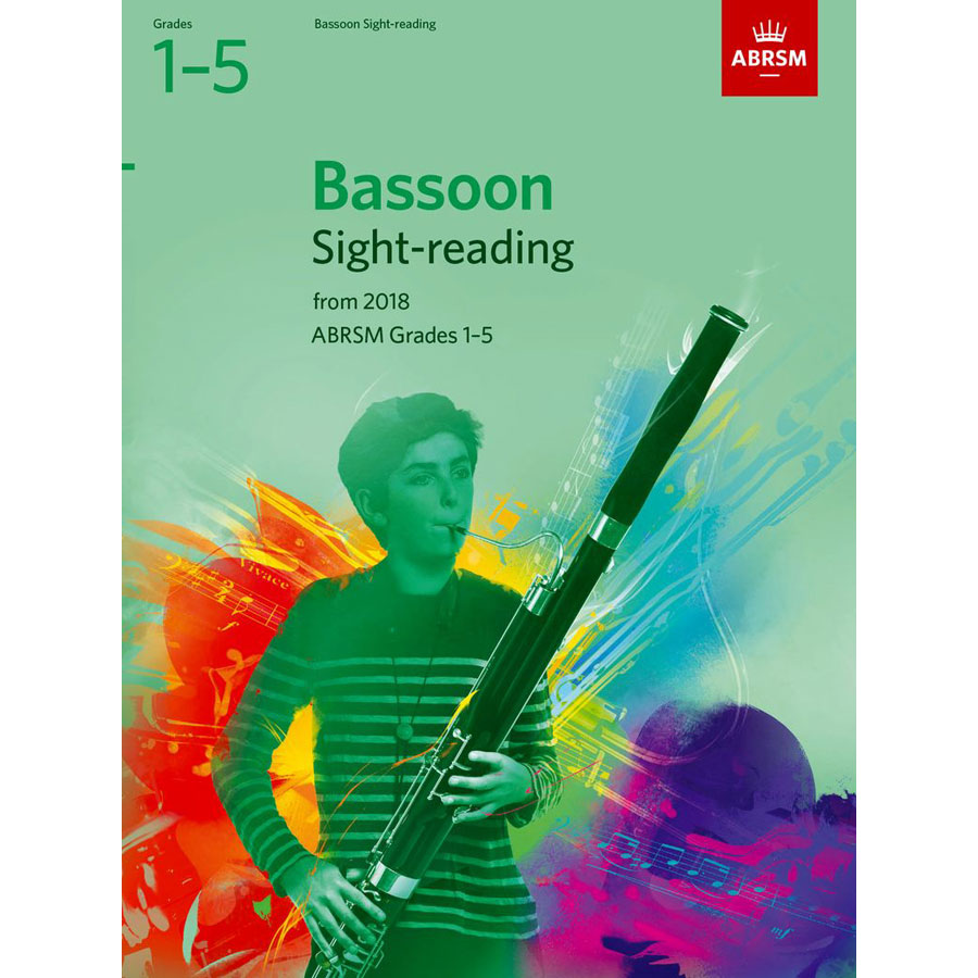 Bassoon Sight-Reading Tests Grades 1-5 from 2018
