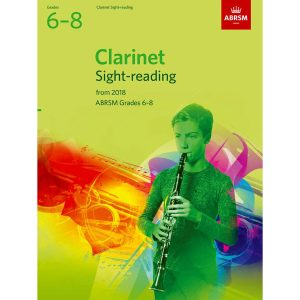 Clarinet Sight-Reading Tests Grades 6-8 from 2018