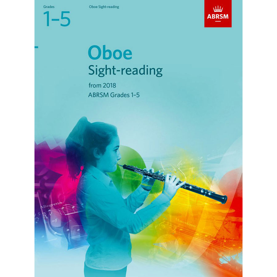 Oboe Sight-Reading Tests Grades 1-5 from 2018