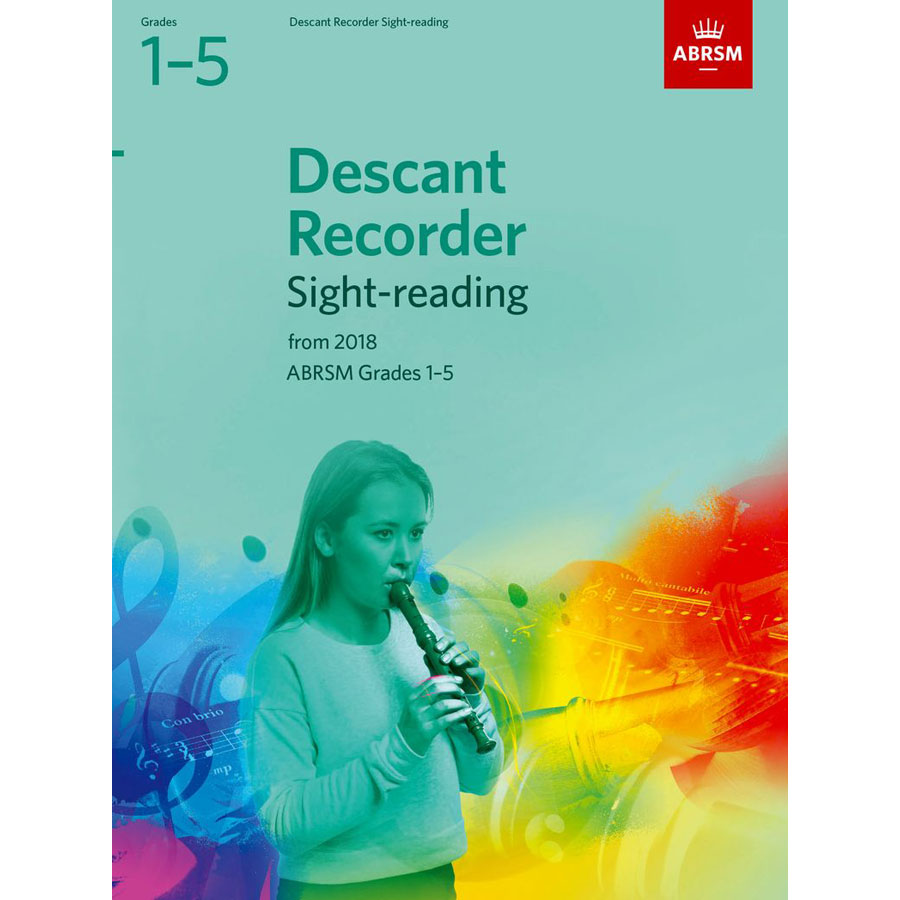 Descant Recorder Sight-Reading Tests Grades 1-5
