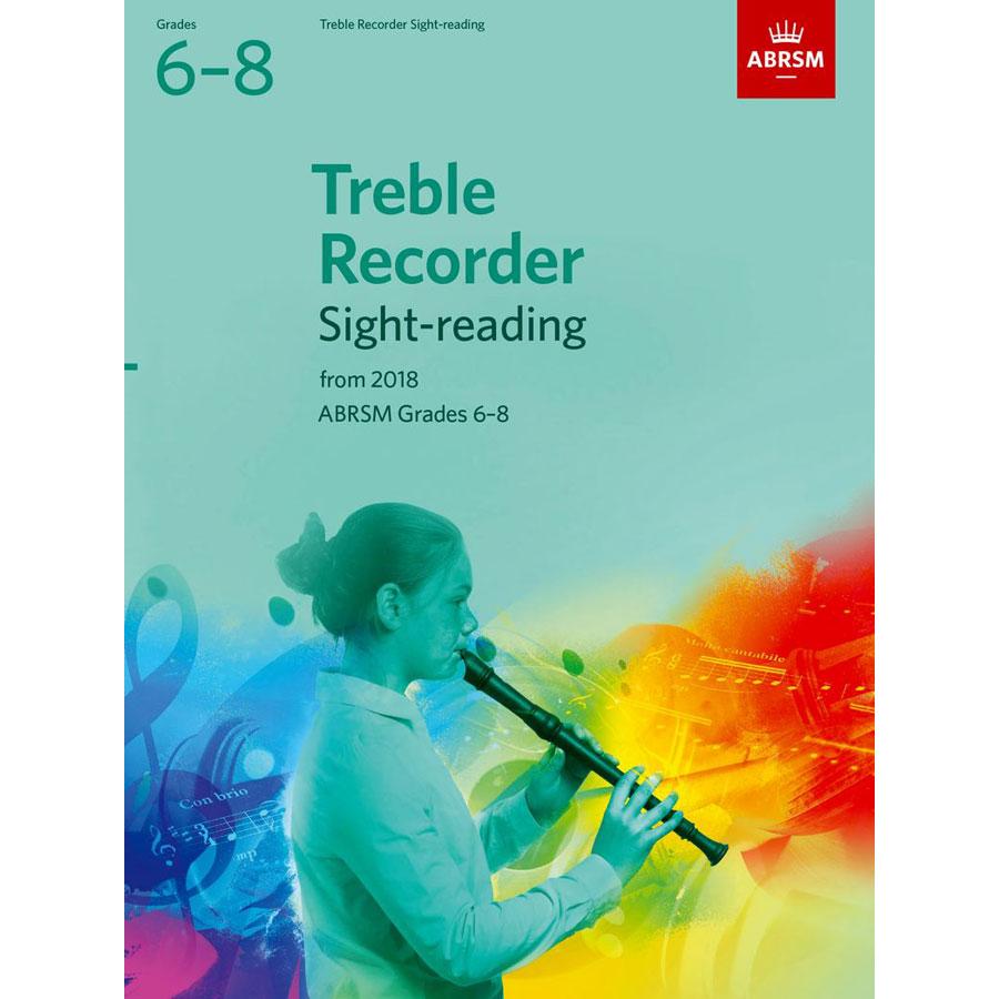 Treble Recorder Sight-Reading Tests Grades 6-8 fr