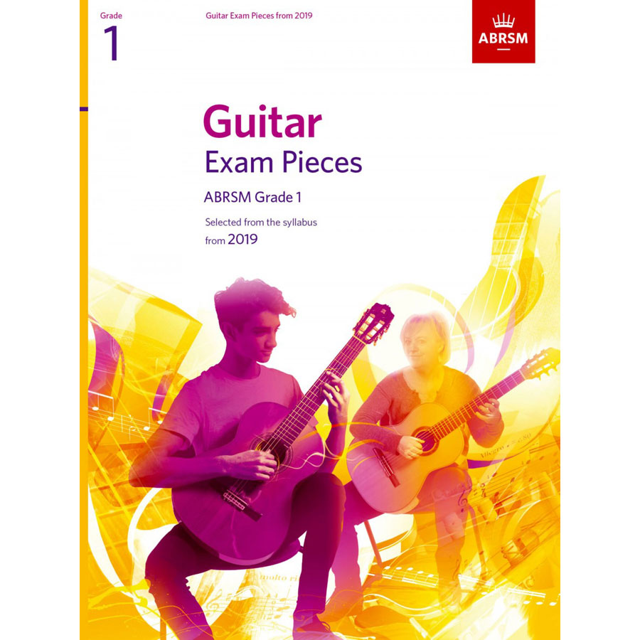ABRSM Guitar Exam Pieces Grade 1 2019