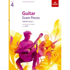 ABRSM Guitar Exam Pieces Grade 4 2019