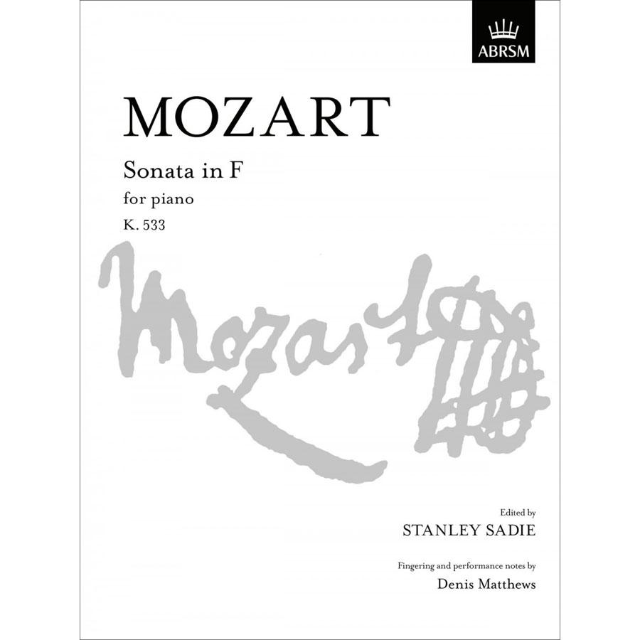 Mozart: Sonata in F