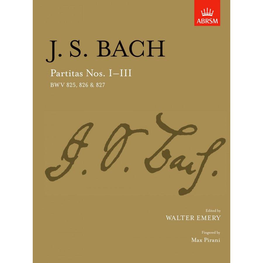 J.S. Bach: Partitas I-III