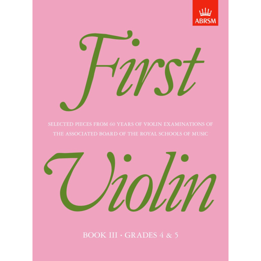 First Violin, Book III