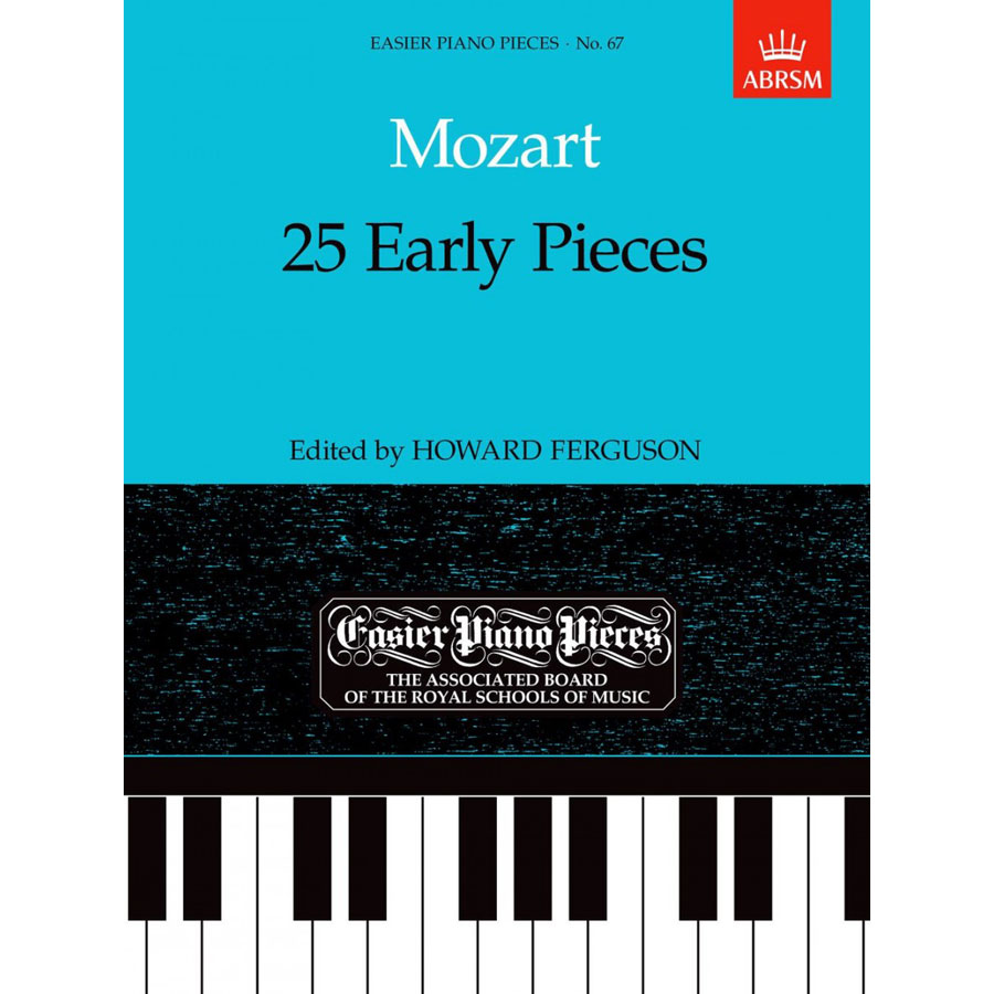 EPP67 Mozart: 25 Early Pieces