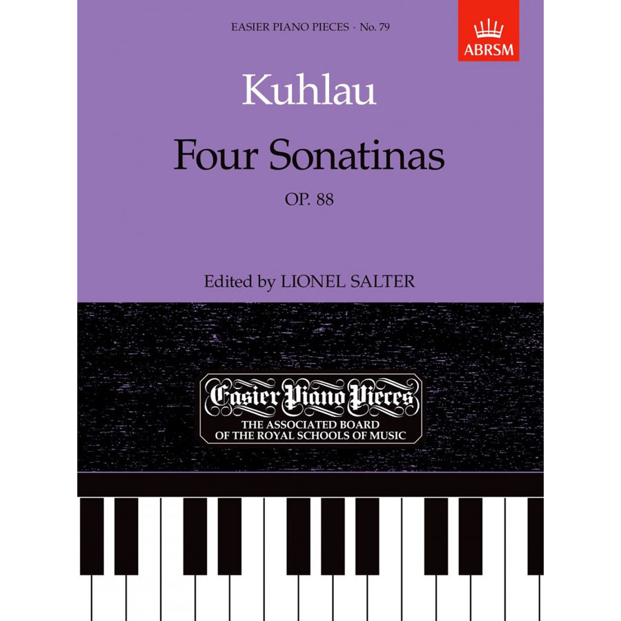 EPP79 Kuhlau: Four Sonatinas, Op. 88