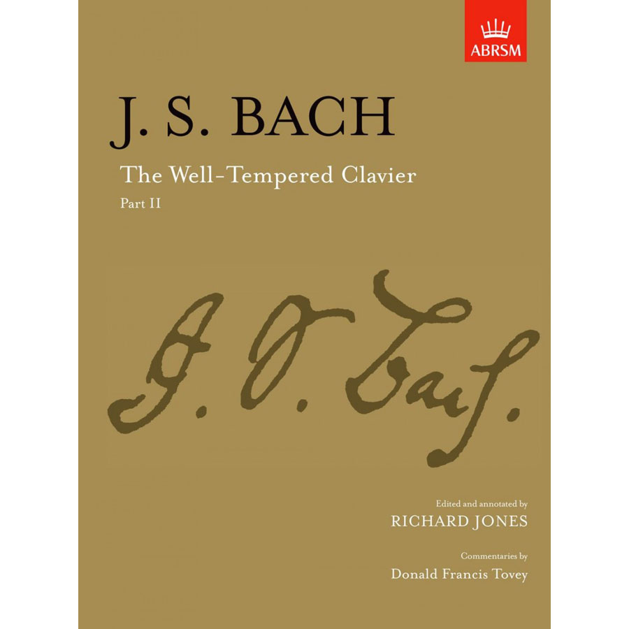 J.S. Bach: The Well-Tempered Clavier, Part II