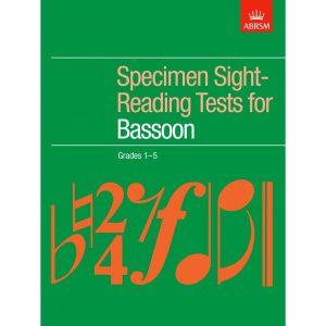 ABRSM Bassoon Gr 1-5 Specimen Sight-Reading Tests