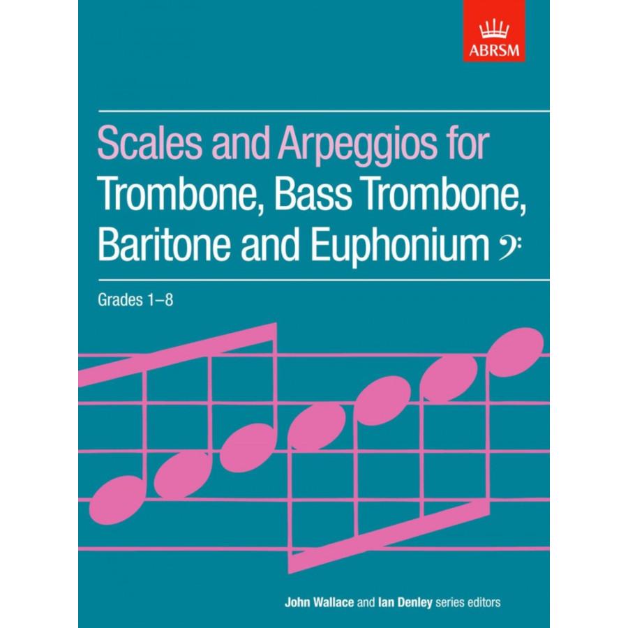 Bass Clef Brass Scales & Arpeggios Grades 1-8
