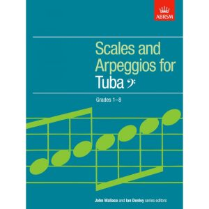 Tuba/Bass Clef Scales and Arpeggios Grades 1-8