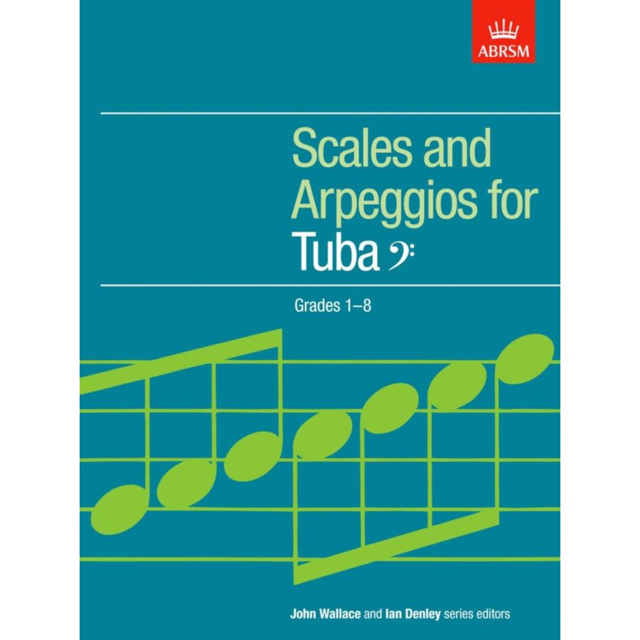 Tuba/Bass Clef Scales and Arpeggios Grades 1-8