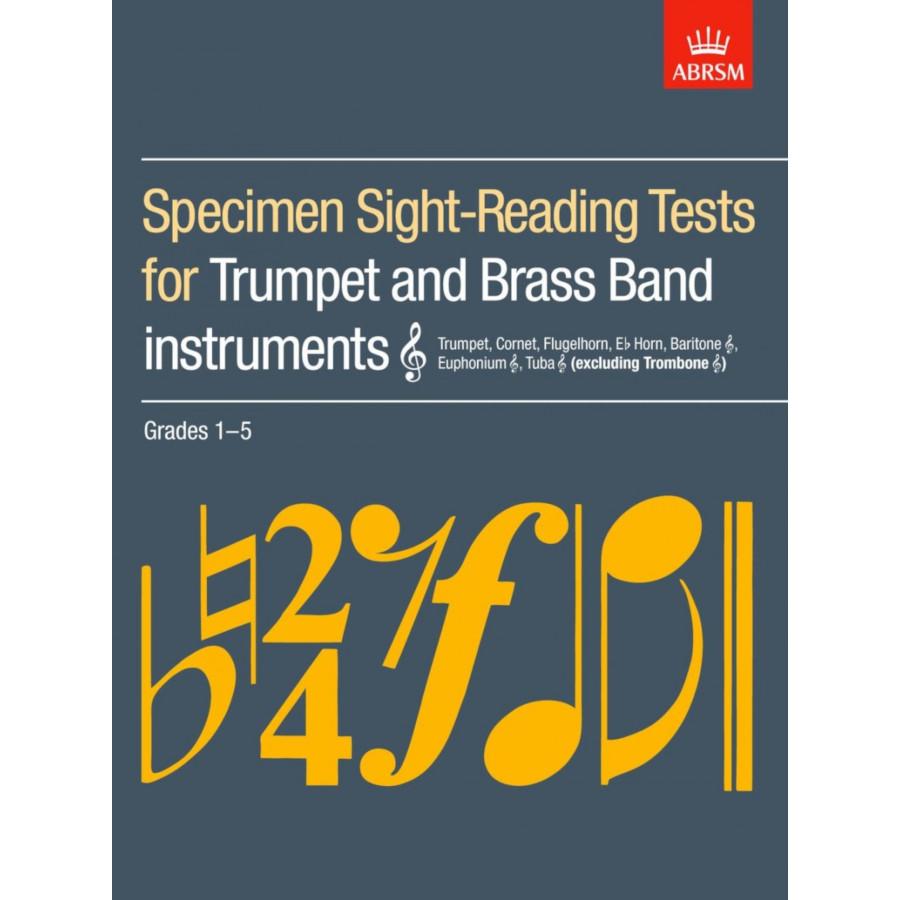 Trumpet/Brass Band Sight-Reading Tests Grades 1-5