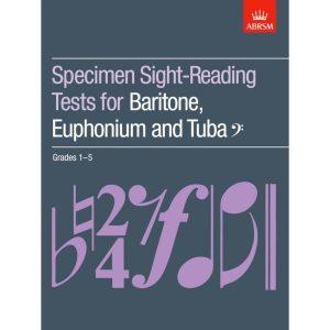Baritone/Euph/Tuba Sight-Reading Tests Grade 1-5