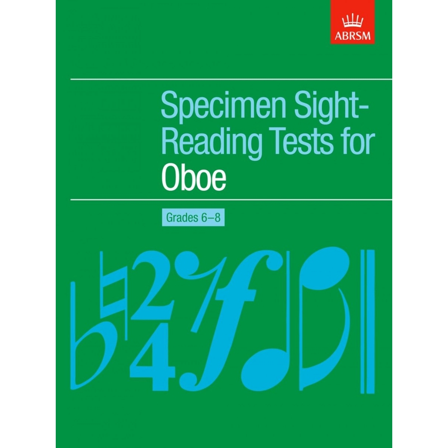 Oboe Grades 6-8 Spec S-R Tests (ABRSM)