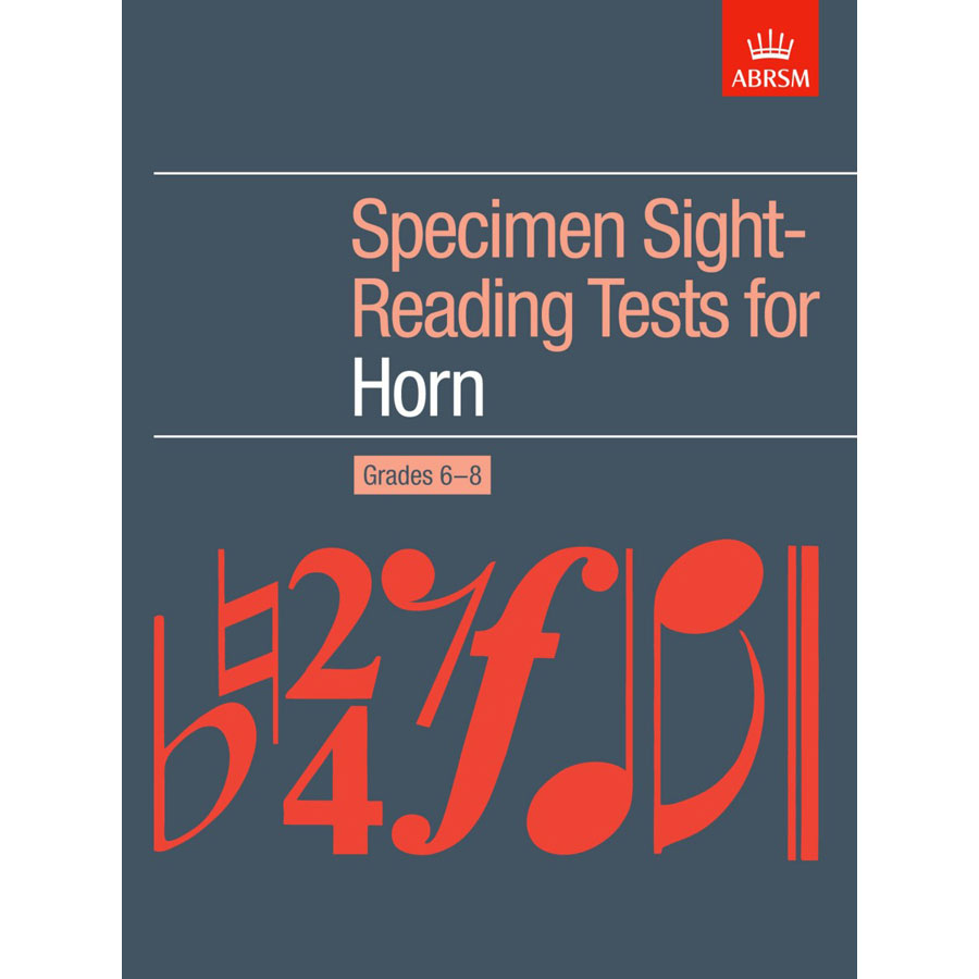 Horn Grades 6-8 Spec S-R Tests (ABRSM)
