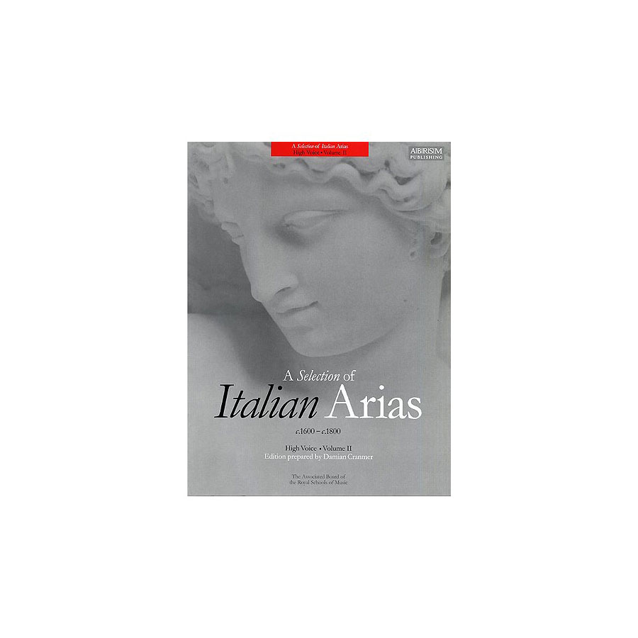 A Selection of Italian Arias Vol 2 High Voice