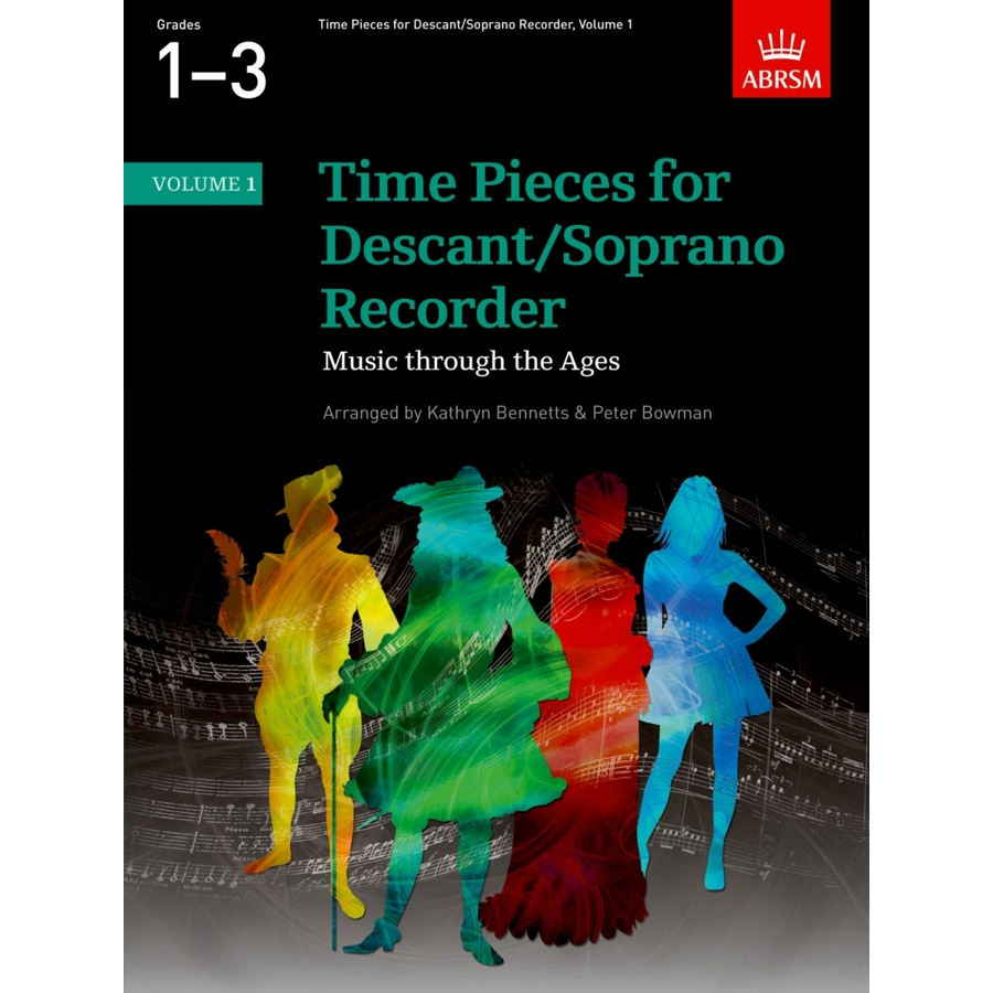 Time Pieces for Descant/Soprano Recorder Vol 1