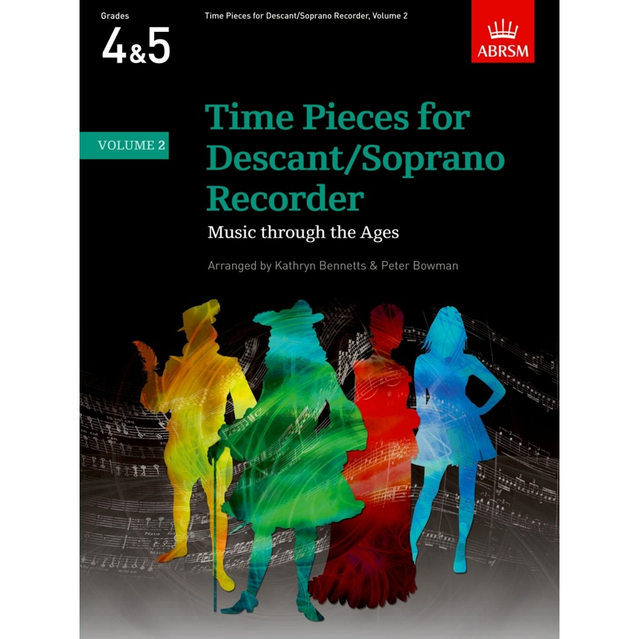Time Pieces for Descant/Soprano Recorder, Vol 2