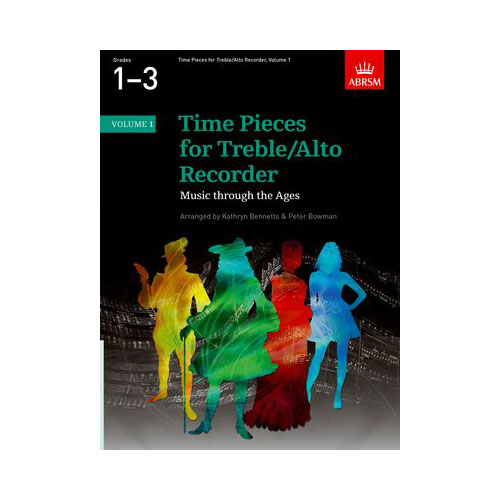 Time Pieces for Trble/Alto Recorder Volume 1