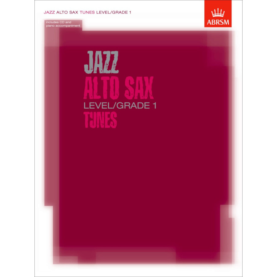 Jazz Alto Sax Level/Grade 1 Tunes (Part/Score/CD)