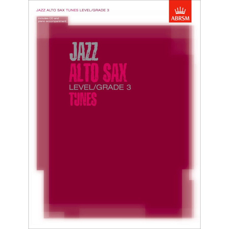 Jazz Alto Sax Level/Grade 3 Tunes (Part/Score/CD)