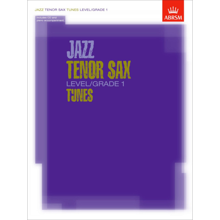 Jazz Tenor Sax Level/Grade 1 Tunes (Part/Score/CD)