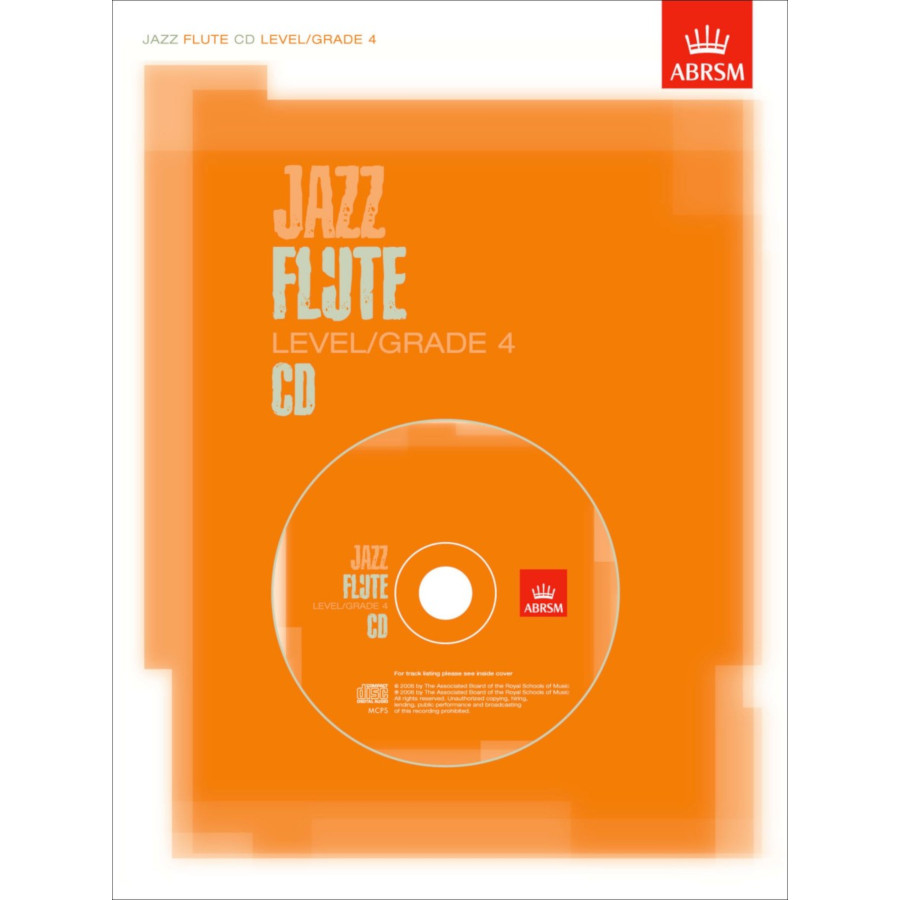 Jazz Flute CD Level/Grade 4