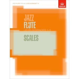 Jazz Flute Scales Levels/Grades 1-5