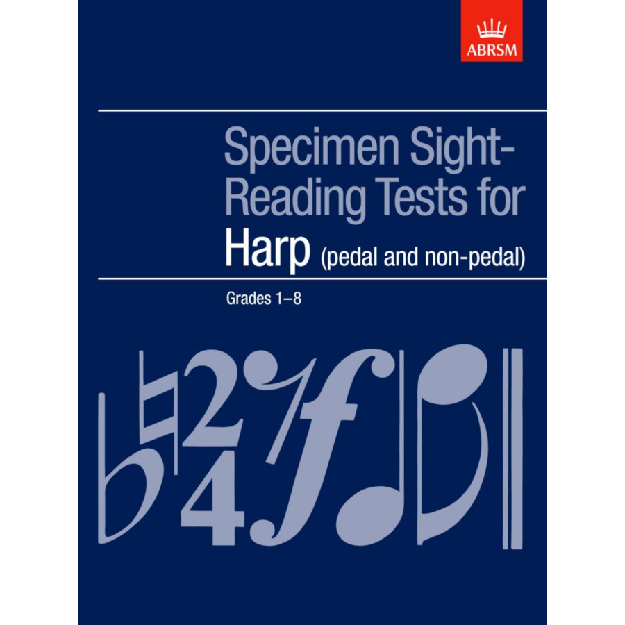 Harp Grades 1-8 Sight-Reading Tests (ABRSM)
