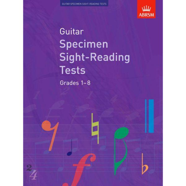 Guitar Grades 1-8 Sight-Reading Tests (ABRSM)